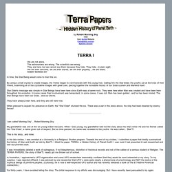 Terra Papers - Hidden History of Planet Earth