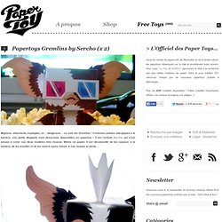Papertoys Gremlins by Sercho
