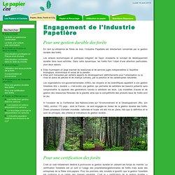Papier, bois et forêt