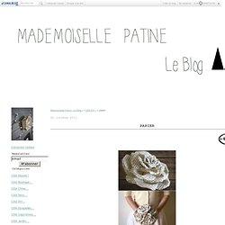 papier - Mademoiselle Patine : Le Blog !