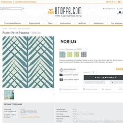 Papier Peint Panama - Nobilis