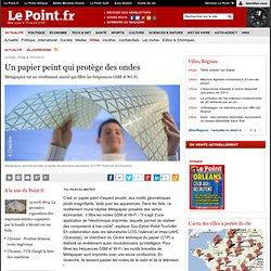 Un papier peint qui protège des ondes