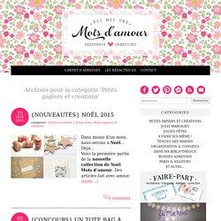 Mots d'amour - Blog mariage - Blog faire-part et papeterie