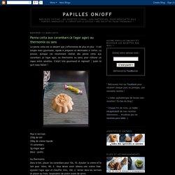 Panna cotta aux carambars (à l'agar agar) au thermomix ou sans