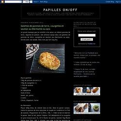 Galettes de pommes de terre, courgettes et saumon au thermomix ou sans