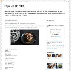 Cupcakes au nutella au thermomix ou sans