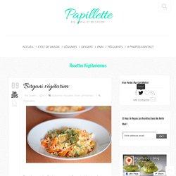 Biryani végétarien ~ carottes, soja