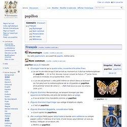 Papillon les insectes des jardins pearltrees for Jardin wiktionnaire