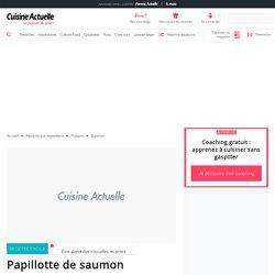 Papillotte de saumon, facile et pas cher