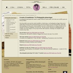 Ett halvt ark papper – Svenska (Grundskolan 7-9)