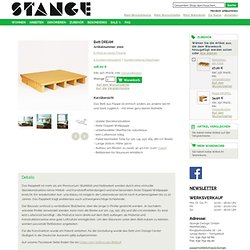 Detailed Platform Bed Picture - von Stange Design (German)