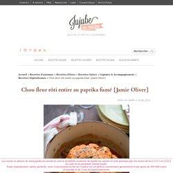 Chou fleur rôti au paprika fumé (recette de Jamie Oliver)