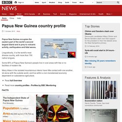 Papua New Guinea country profile