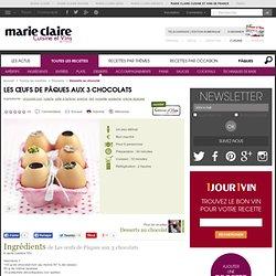 Les œufs de Pâques aux 3 chocolats