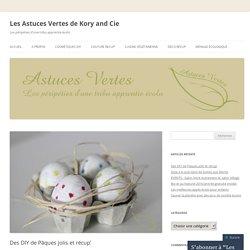 Les Astuces Vertes de Kory and Cie