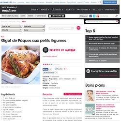 Gigot de Pâques aux petits légumes - une recette Fête