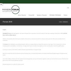 Parabere Forum