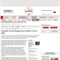 Parabole du développement durable et de la RSE