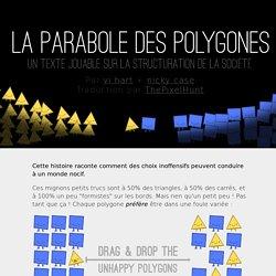 La Parabole des polygones - un texte jouable sur la structure de la société