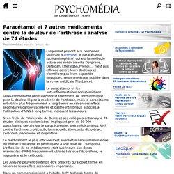 Paracétamol et 7 autres médicaments contre la douleur de l'arthrose: analyse de 74 études