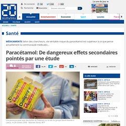 Paracétamol: Une surconsommation augmenterait le risque de maladies cardiovasculaires