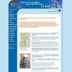 Leonard de Vinci et les premiers parachutes - Histoire parachutisme - Diagonale Chute Libre