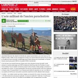 L'acte militant de l'ancien parachutiste - 25/11/2015 - ladepeche.fr