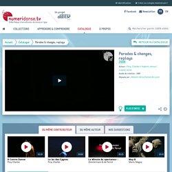 Video «Parades & changes, replays» par Halprin, Anna