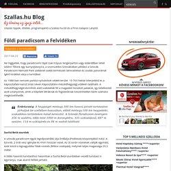 Földi paradicsom a Felvidéken - Szallas.hu Blog