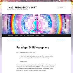 Paradigm Shift/Noosphere