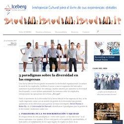 3 paradigmas sobre la diversidad en las empresas « ICEBERG Inteligencia Cultural