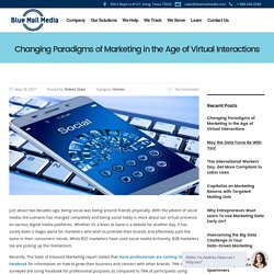 Changing Paradigms of Marketing in the Age of Virtual Interactions