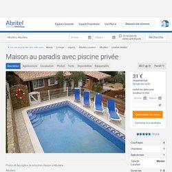 Maison au paradis avec piscine privée - Albufeira