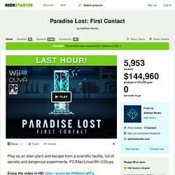 Paradise Lost: First Contact by Asthree Works