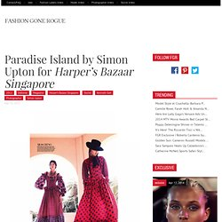 Paradise Island by Simon Upton for Harper's Bazaar Singapore