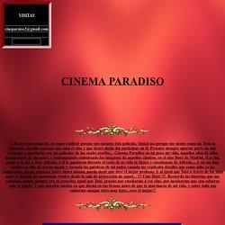 CINEMA-PARADISO, UN FILM PARA RECORDAR TODA LA VIDA, UNA AUTENTICA OBRA DE CULTO