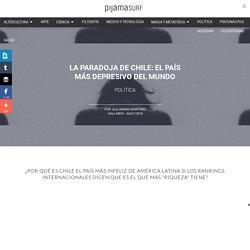 La paradoja de Chile: el país más depresivo del mundo
