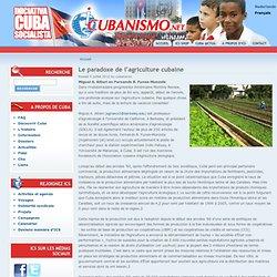 Le paradoxe de l'agriculture cubaine