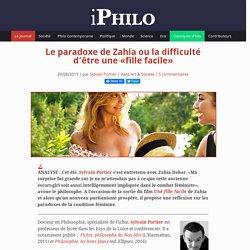 Le paradoxe de Zahia ou la difficulté d'être une «fille facile»