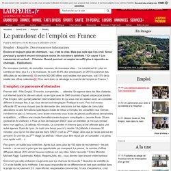 Le paradoxe de l'emploi en France - 26/03/2014