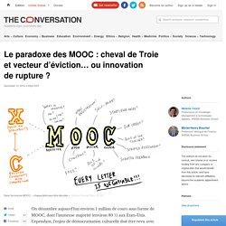 Le paradoxe des MOOC: chevaldeTroie etvecteur d'éviction… ouinnovation derupture?