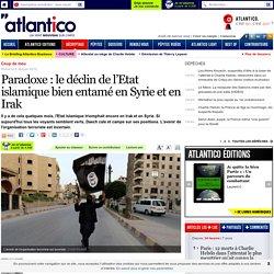 Paradoxe: le déclin de l'Etat islamique bien entamé en Syrie et en Irak