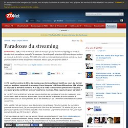 Paradoxes du streaming