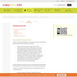 Paradoxical life » John Keats, selected poems Study Guide from Crossref-it.info