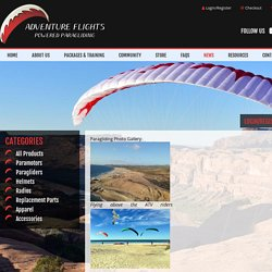 Paragliding Photos, Images & Pictures - Adventure Flights PPG