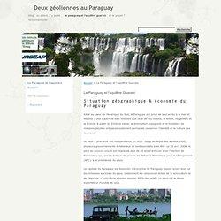 Le Paraguay et l'aquifère Guarani · Deux géoliennes au Paraguay