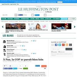 À Pau, la COP 21 paraît bien loin