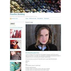 Parallax Knitting · Lyra's cap