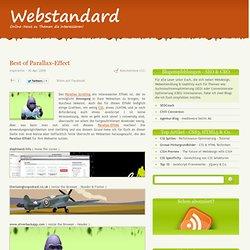 - Best of Parallax-Effect - Webdesign und Webentwicklung im Webstandard-Blog
