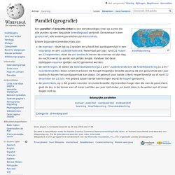 Parallel (geografie)